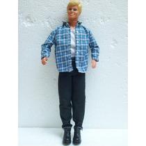 Brinquedo Antigo Estrela Mattel Boneco Ken/beto Amigo Barbie