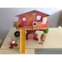 Brinquedo Casa Da Árvore Da Kelly Mattel