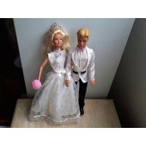 Barbie E Ken Noivos Lindos E Felizes Para Sempre