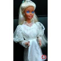 Boneca Barbie Noiva Romântica Da Estrela Ano De 1993.