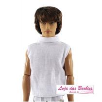 Regata Para O Boneco Ken ( Barbie ) + Sapatinhos * Roupinha