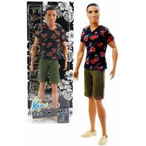 Boneco Steven Amigo Moreno Ken Barbie Fashionistas 2015-2016