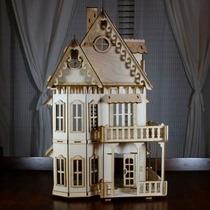 Casa Casinha De Bonecas Barbie De Madeira 6mm 1,5m Altura !