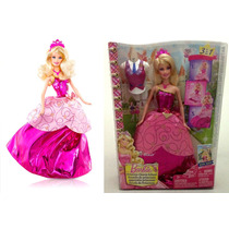Rara Boneca Barbie Blair Escola De Princesas Original Mattel