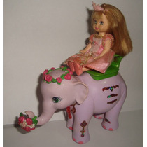 Elefante Tika Barbie Princesa Da Ilha Kelly