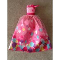Vestido Original Da Barbie Aniversário Da Princesa