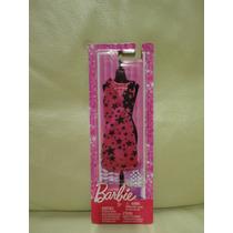 Cartela Roupa Look Barbie Mattel Fashionista Vestido Festa