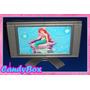 Moderna Televisão Tv P/ Casa De Bonecas Barbie * Móveis