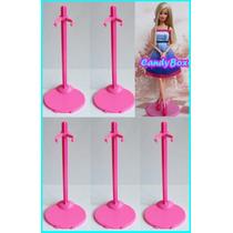 Promoção ! Lote C/ 5 Suportes P/ Barbie * Ken * Monster High