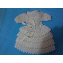 Vestido De Crochê Para Boneca Susi 16cm Altura