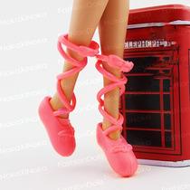 Sapatinho Bailarina Para Boneca Barbie * Sapatilha Ballet