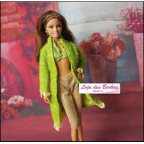 Casaco Fashion + Roupinha + Sapato Para Boneca Barbie !