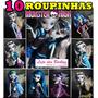 Mega Lote * 10 Roupas / Vestidos Para Boneca Monster High !
