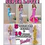Super Lote * 5 Vestidos De Festa P/ Barbie + 10 Sapatinhos !