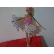 Roupa De Bailarina Para Boneca (barbie Boneca É Brinde)