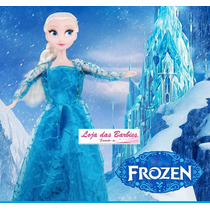 Vestido Frozen ( Elsa ) P/ Boneca Barbie * Princesa Disney