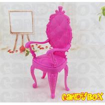 Linda Cadeira Para Boneca Barbie - Estilo Clássico