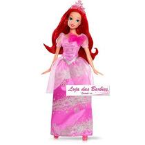 Vestido Ariel Para Boneca Barbie + Coroa * Princesas Disney