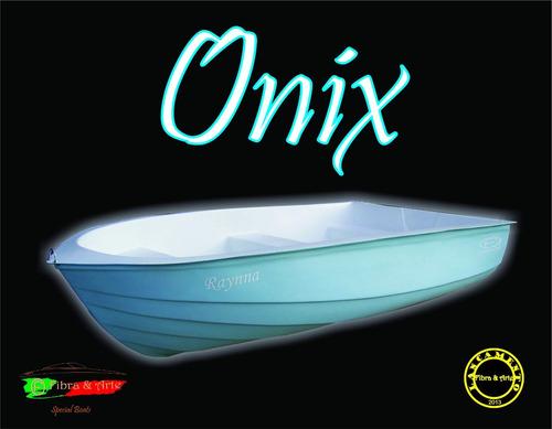 Barco Bote Fibra Modelo Onix Promoção 10x Sem Juros !!!