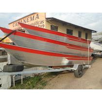 Barco Tibagi (aluminio) 6m Novo Ou 12x De 450 No Cartao
