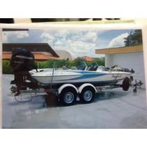 Bassboat Quest 290 - Somente O Casco 2008 - Só 100 Hs