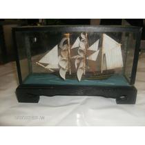 Barco A Vela,navio Em Miniatura, Usado.
