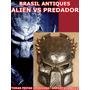 Mascara Alien X Predador Imp.resina Para Festa Carnaval Nova