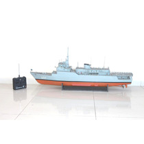 Navio U27 Da Marinha C/ Controle Remoto Funcionando