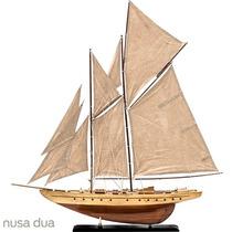 Miniatura Veleiro Sand - Madeira - Qualidade Top - Barco