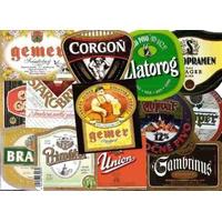 100 Rótulos De Cerveja Para Decoração - Cada Um R$0,60