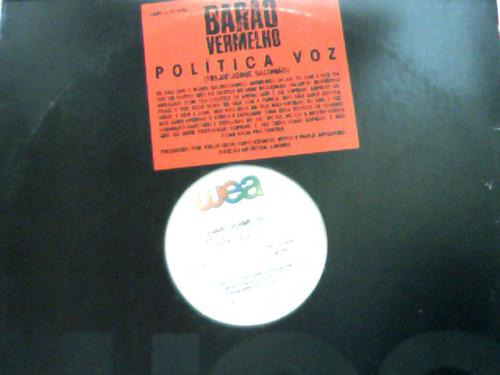 Barão Vermelho Politica Voz Entrevista Lp Vinil Single 1990