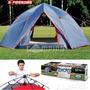 Barraca Camping Automática Spider 5 Pessoas Mor + Brinde