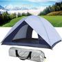 Barraca Camping Nautika Dome 3 Pessoas Impermeavel + Brinde