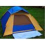 Barraca De Camping Para 4 Pessoas Com Tela Mosquiteiro