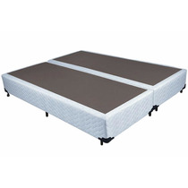 Base Cama Box Queen Bi Partido 1,58 X 1,98 - Téta Flex