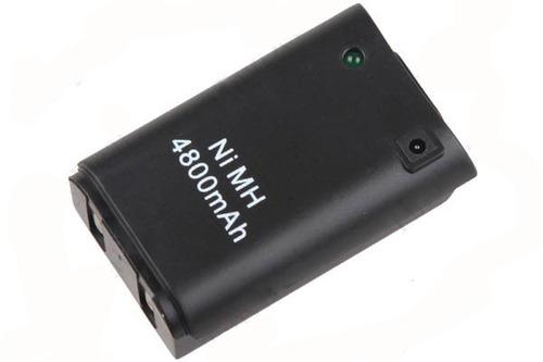 Bateria Recarregável 4000mah P/ Xbox 360 + Cabo Carregador