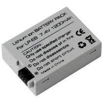 Bateria Lp-e8 P/ Canon Kiss X4 X5 X6 Rebel T4i T3i T2i,eos