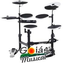 Bateria Eletrônica Roland Td-4kp Loja + Nota Goias Musical
