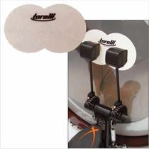Drum Patch De Polyester P/ Pedal Duplo De Bateria Torelli