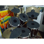 Abafador Pele Prato Chimbal Caixa Surdo Bateria - Drum Pad