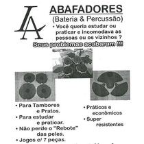 Abafador Pele Prato Caixa Bateria Para Estudo - Drum Pad