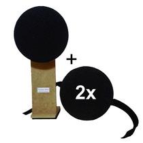 Kit: 2 Pads De Estudo Praticável + Pad De Bumbo + Rudimentos