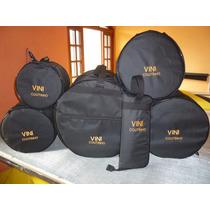 Bag Capa Para Bateria 8 Peças Personalizada .seu Nome