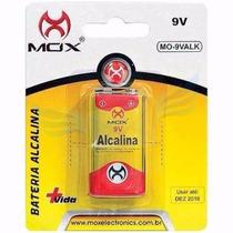 Bateria Alcalina 9v Brinquedo Microfone Blister Original Mox