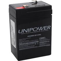 Bateria Interna Selada 6 Volts 4.5 Ah Unipower Up645seg