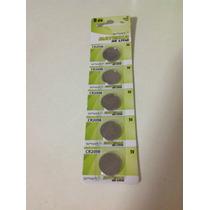 1 Cartela Com 5 Baterias De Lithium Cr2016 3v