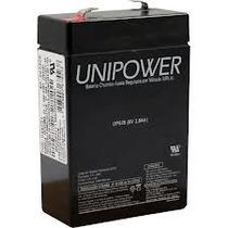 Bateria Selada 6v 2,8ah Unipower 2 Anos - Up628