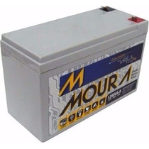 Bateria Moura 12v9a Para Nobreak, Alarme, Bike Elétrica