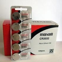 100 Baterias Cr2016 / Cr2025 Ou Cr2032 - Maxell !