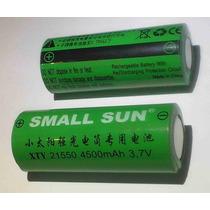Bateria Recarregável Small Sun 21550 4500mah 3.7v